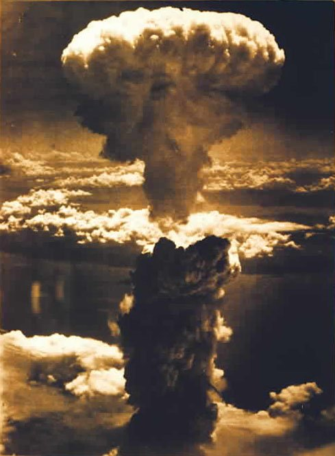 bombing of hiroshima and nagasaki. 1945 US atomic ombing