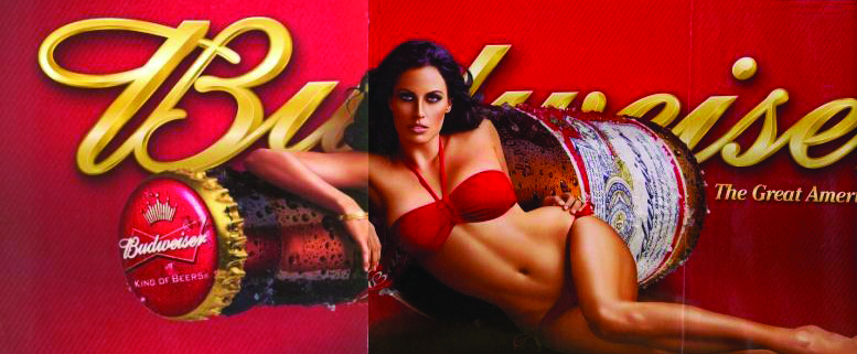Sexualized women in advertising