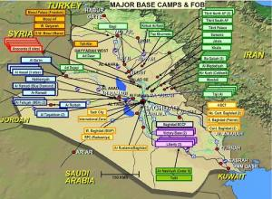 US Military bases in the Middle East under Obama   Grand Rapids ...