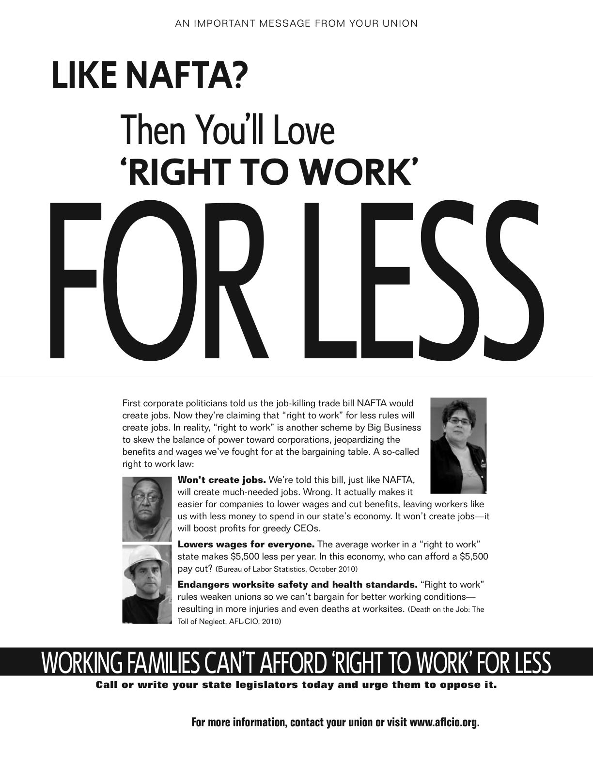 Michigan right to work