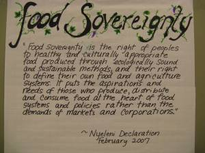 Dreams of the Local Commissariat: Wal-Mart, Food Deserts, and Genuine Sovereignty
