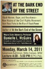 Dark End of the Street: Black Women, Rape, and Resistance--A New History of the Civil Rights Movement from Rosa Parks to the Rise of Black Power