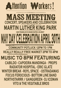 IWW hosts Annual May Day event this Saturday in Grand Rapids