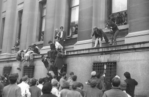 Image result for columbia student protest 1968