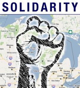 Michigan Wisconsin solidarity