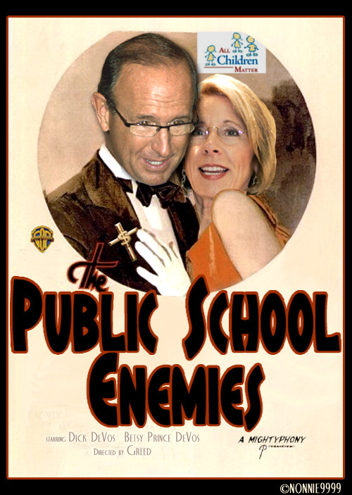 Image result for dick and betsy devos