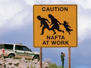 Illegal immigration in southern Arizona.