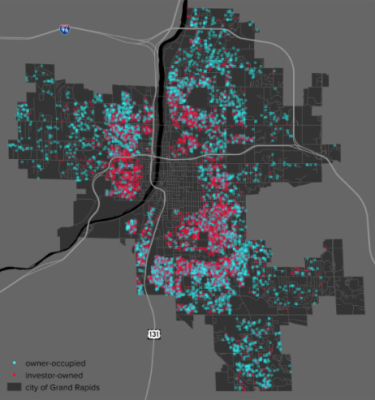 Gvsu Grand Rapids Campus Map.Gvsu Magazine The Westside And Gentrification Grand Rapids