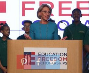Betsy Devoss Attack On Public Education >> Betsy Devos Watch Newly Announced Education Freedom Scholarships
